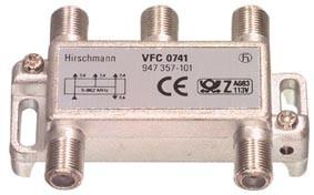 Hirschmann Multitap VFC-0741