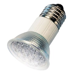 LED Spot - E27 - Wit