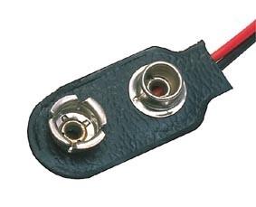 9 Volt Batterijclip