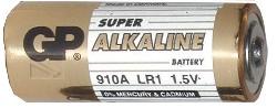 1,5V Alkaline Batterij GP910A