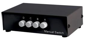 4-poorts USB Schakelaar