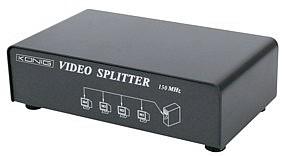 4-weg Monitor Splitter - Nog 1