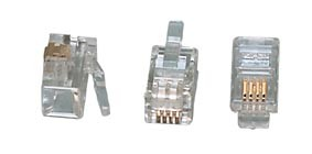 4-polige Modulaire Stekker