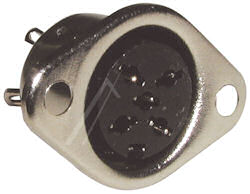 DIN Plug- 5p Chass Dobbelsteen