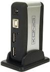 Actieve USB 2.0 Hub - 7-poorts
