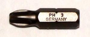 Schroefbitje PH3