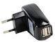 Dubbele USB Lader 230 Volt