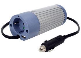 200W Omvormer 12V - 230V +USB