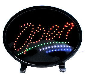LED Bord - LED Sign - Open