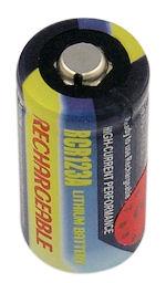 Oplaadbare CR123A batterij