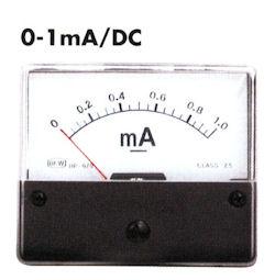 Paneel Meter 1mA DC
