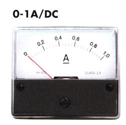 Paneel Meter 1A DC