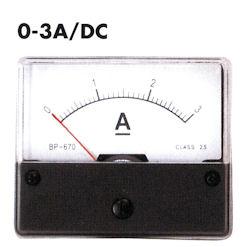 Paneel Meter 3A DC