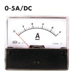 Paneel Meter 5A DC