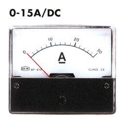 Paneel Meter 15A DC