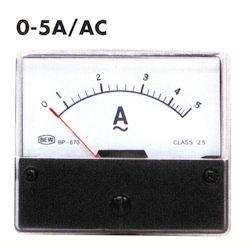 Paneel Meter 5A AC