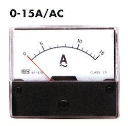 Paneel Meter 15A AC