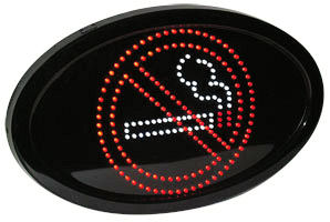LED Bord- LED Sign- Niet Roken