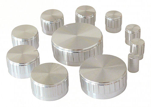 Zilverkleurige Knoppen