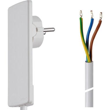 Platte Stekker met kabel-Nog1x