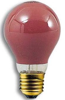 Gekleurde Gloeilamp - Rood