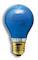 Gekleurde Gloeilamp - Blauw
