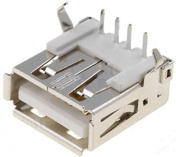USB-A Chassisdeel Haaks