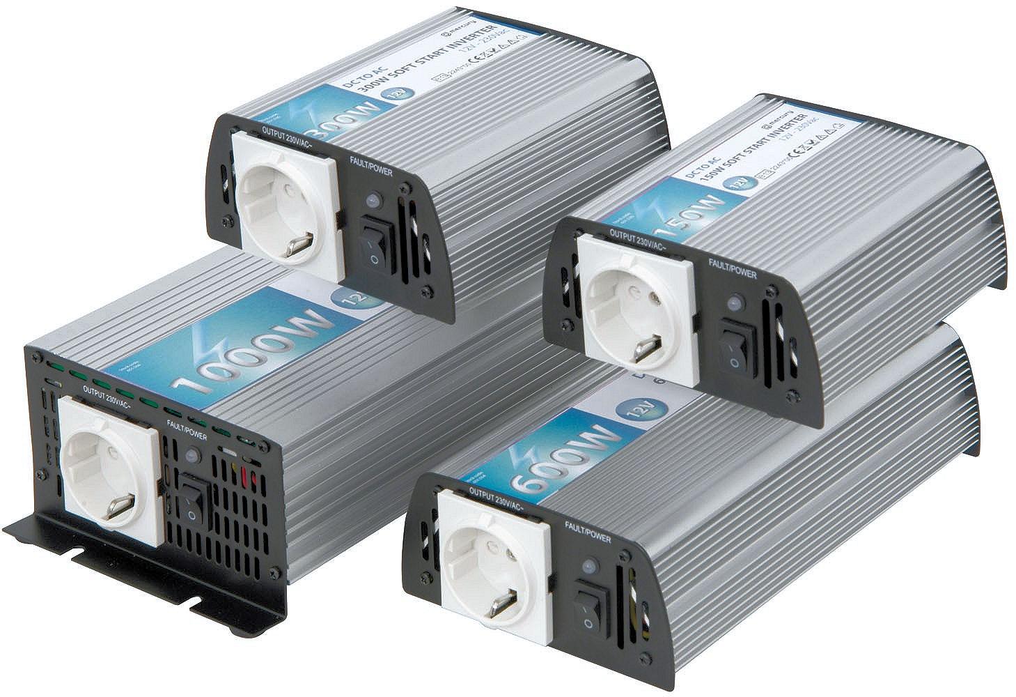 300 Watt Omvormer 12V > 230V