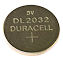 Duracell Knoopcel CR2032