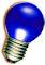 LED Kogellamp - E27 - Blauw