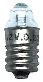 Lenslampje 1,2V 0,22A