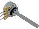 Potmeter 4K7 Log - 4mm as