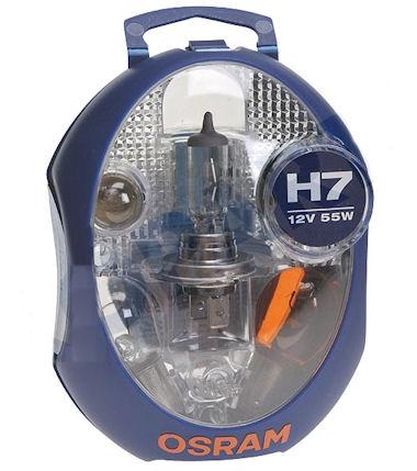 Osram H7 Autolampen Set