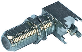 F-Connector Chassisdeel