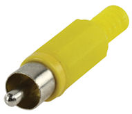 Tulp Plug Male - Geel