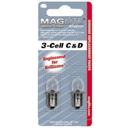 2 lampjes Maglite 3C / 3D
