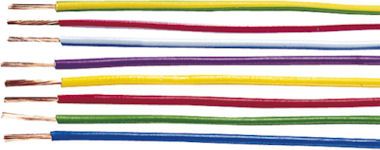 1m Gele Kabel 1,5mm2