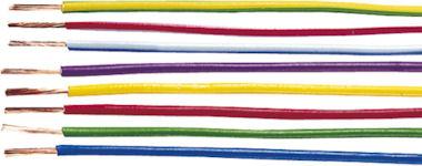 1m Witte Kabel 1,5mm2