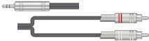 Stereo Jack-Tulp Kabel 6,0m