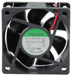Sunon Ventilator 12V