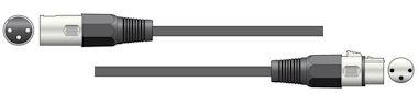 XLR Speaker/DMX Kabel 1,5m 1x