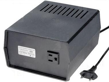 Omvormer 230V -> 110V - 600W