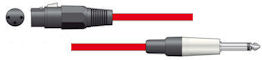 Microfoonkabel - Rood - 6,0m