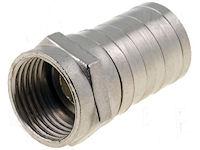 F-Connector - Krimp - tot 7mm
