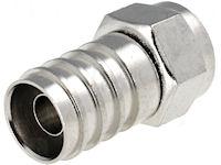 F-Connector - Krimp- tot 8,5mm
