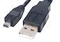USB-A <> 4 polig mini USB