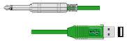 Jack - USB Kabel - Op=Op