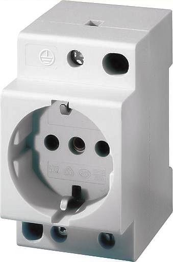 Stopcontact voor DIN Rail