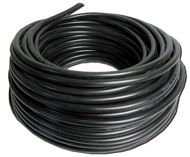 Zwarte Buitenkabel - Rol 50m