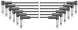 6 Jack Patch Kabels 50cm Mono
